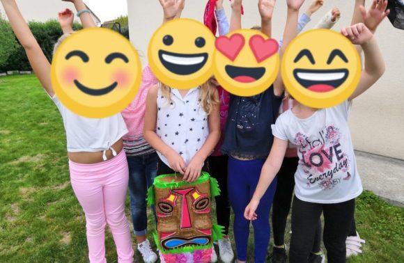 Anniversaire pour enfants à domicile à Bavent