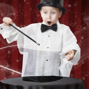 enfant magicien